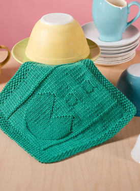 Chomp Chomp Dishcloth Pattern