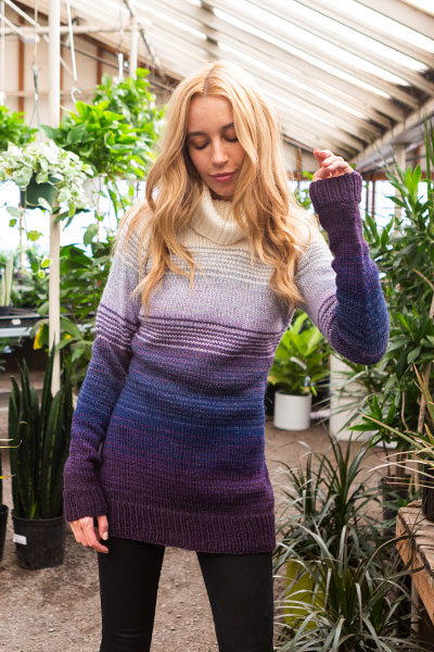 Shaded Pullover Pattern