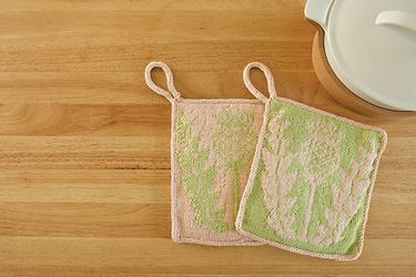 Thistle Potholder