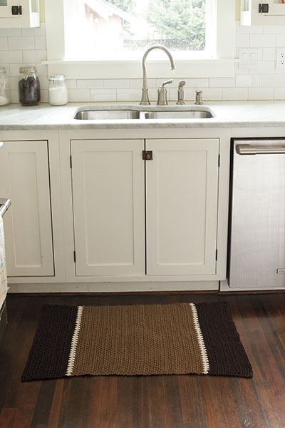 Crocheted Kitchen Rug
