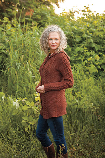 Oslavia Sweater Coat Pattern