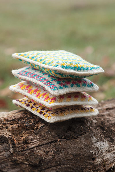Fun with Fair Isle Lavender Sachets - Knitting Patterns and ...