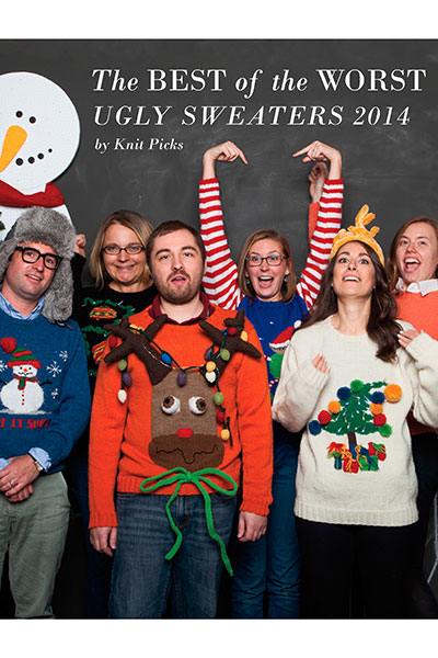 The Best of the Worst - Ugly Sweaters 2014 eBook - Free Knitting Pattern Book