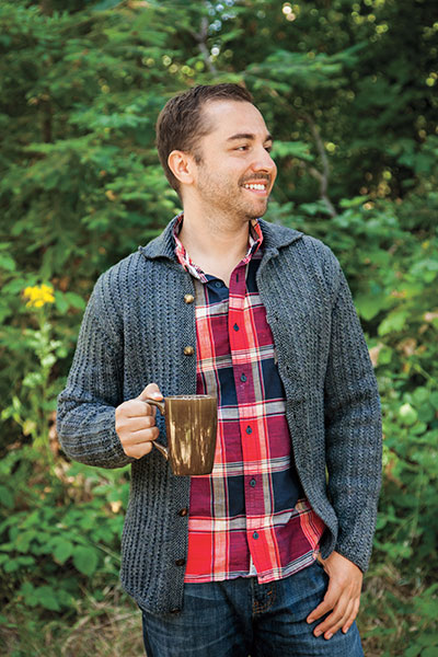 Atwood Cardigan - Men's Cardigan Knitting Pattern