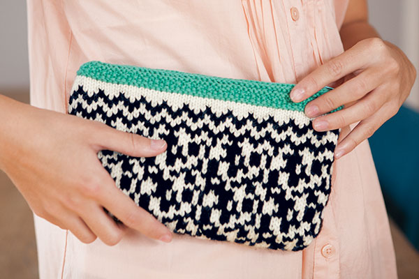 Black & White Clutch
