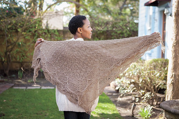 Pharos Shawl