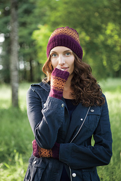 Cassia Hat and Mitts