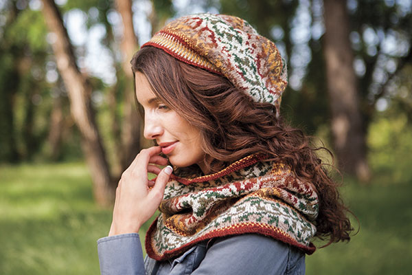 Summer Wanes Cowl and Hat