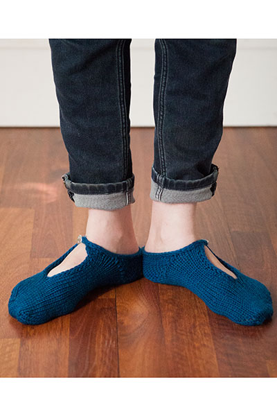 Favorite Buttoned Slippers