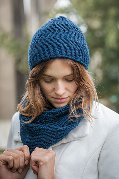 Reverb Hat and Infinity Scarf