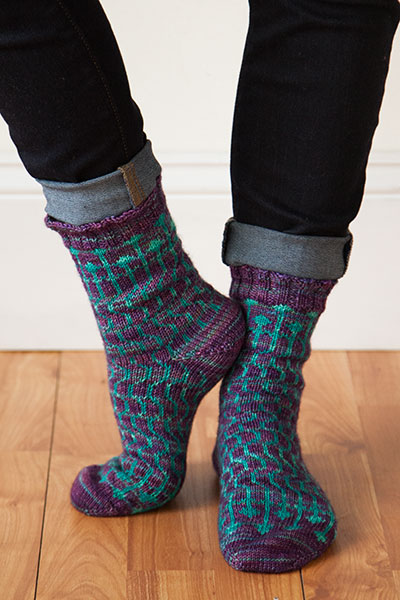 Heavenly Shades Socks