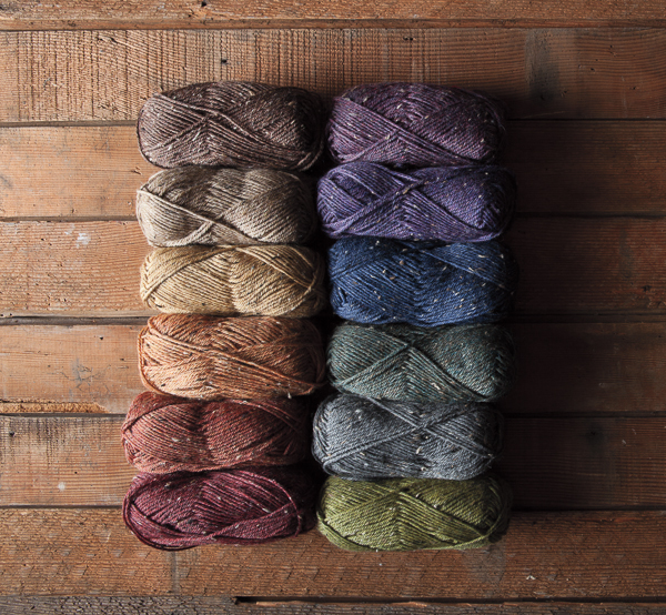 Wool Of The Andes Tweed Yarn Knitting Yarn From