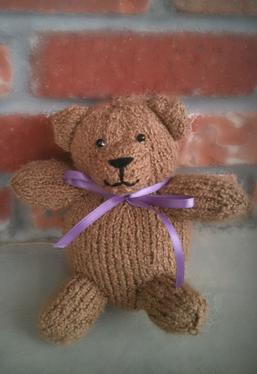 Knitting Pattern For All In One Teddy Bear : Teddy Bear - Knitting Patterns and Crochet Patterns from KnitPicks.com