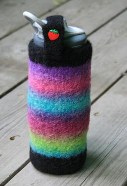 Vol 06 - How to crochet a Water Bottle Holder - YouTube