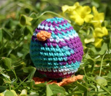 Pip The Chick Crochet Pattern