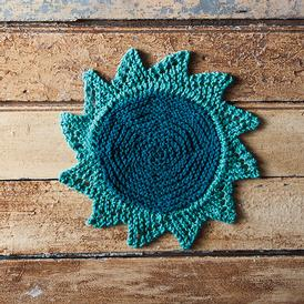 Starflower Dishcloth