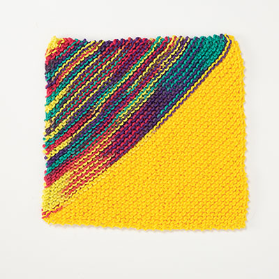 Slant Dishcloth