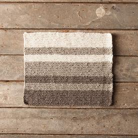 Neutral Stripes Dishcloth