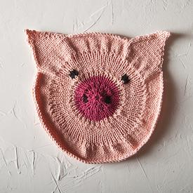 Some Pig Dishcloth
