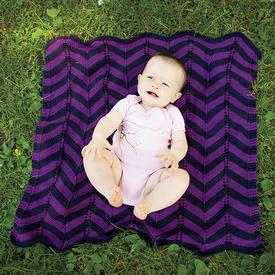 Chevron Cherub Wrap