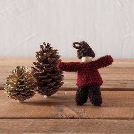 Crochet Woodland Friend Elfkin