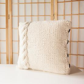 Cable Me Cozy Pillow Cover