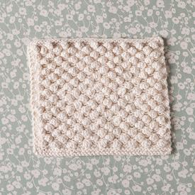 Snowbobbles Dishcloth