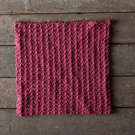 Slipped Stripes Dishcloth