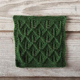 Tree Hunting Dishcloth