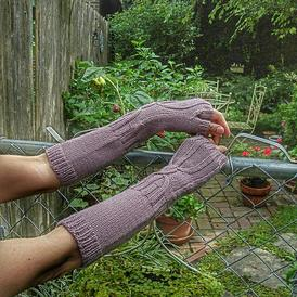 Hour Glass Arm Warmers
