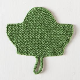 Leaf Dishcloth