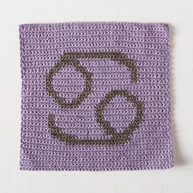 Zodiac Dishcloth Series - Cancer