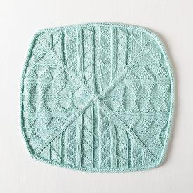 Triangle Squared Dishcloth