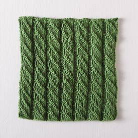 Spiral Columns Facecloth