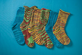 Flash Dance Socks Pattern