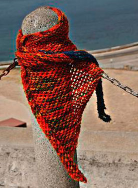 Triangulum Shawl Pattern