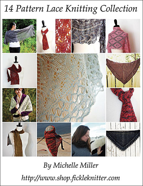 14 Pattern Lace Knitting Collection eBook