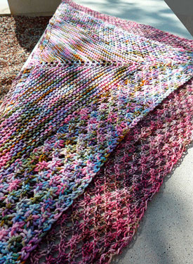 Sweet Shopppe Shawlette Pattern