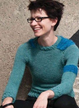 Grundy Woman's Pullover Pattern