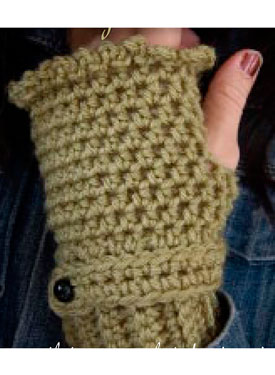 Romantic Fingerless Gloves Pattern