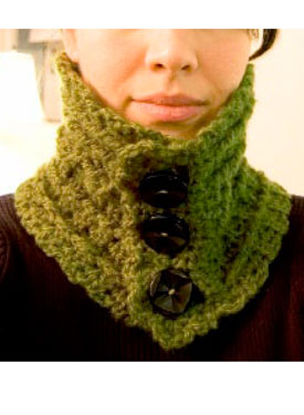 Ireland High Neck Warmer Pattern
