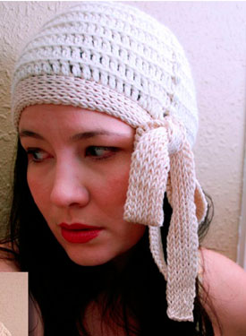 Millie Side Tie Cloche Pattern