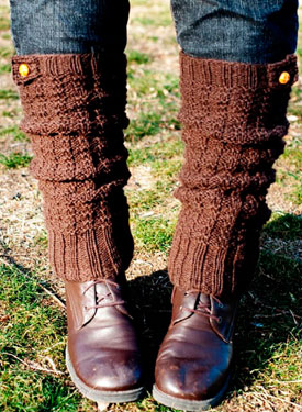 Ice Breakers Thermal Legwarmers Pattern