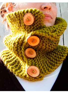 Woodland Cowl Pattern