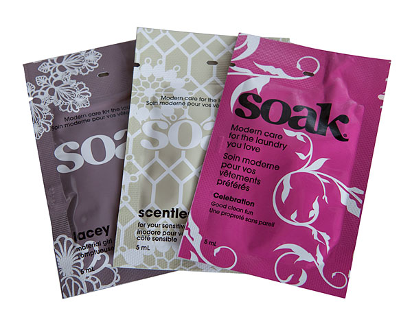 Soak Wash - Travel Pack Assorted
