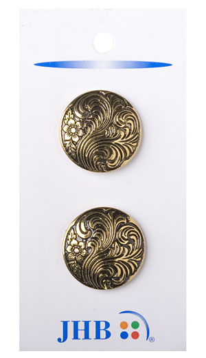 Damascene Button 7/8