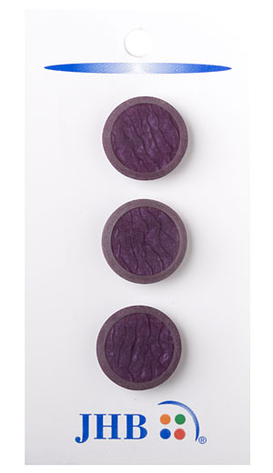 Grietas Button - Plum