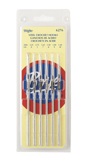 Boye Steel Crochet Hook Set of 6