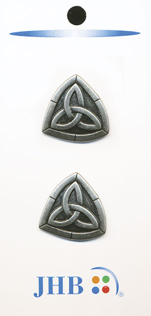 Trinity Knot Button