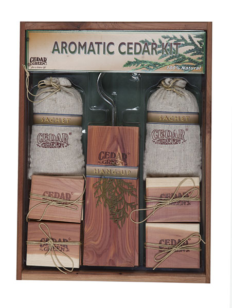 Aromatic Cedar Gift Set